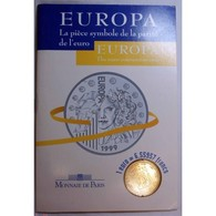 EUROPA 1999 - La Pièce De La Parité De L' Euro - Francia