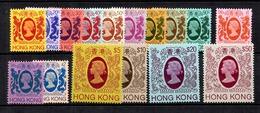 Hong-Kong YT N° 382/397 Neufs ** MNH. TB. A Saisir! - Hong Kong (...-1997)