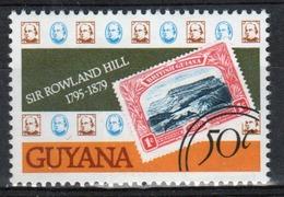 Guyana 1979 Single 50c Stamp From The Rowland Hill Series. - Guyana (1966-...)