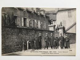 AK CP La Correze Pittoresque Ussel Ancien Seminarie Transforme Hopital Militaire - Guerre 1914-18