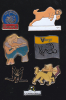 59703-lot De 7  Pin's.astrologie.. - Jeux