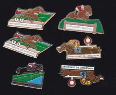 59705-lot De 6  Pin's.PMU.hippisme.cheval.jeux.. - Jeux