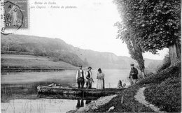 CPA De Ougney - Famille De Pêcheurs. Circulée En 1907. Bon état. - Non Classés