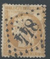 Lot N°50304  N°59, Oblit GC 844 Châlons-sur-Marne, Marne (49) - 1871-1875 Ceres