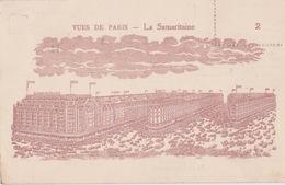 PARIS (75) - Grands Magasins La Samaritaine - 1934 - Meter Et Gendre  - N°2 Sépia - Frankreich