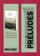 Marque Page Editions Préludes. - Marque-Pages
