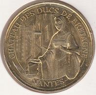 MONNAIE DE PARIS 44 NANTES Château Des Ducs De Bretagne - Anne De Bretagne - 2014 - Monnaie De Paris