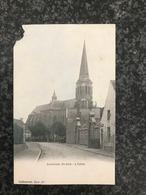 Zonnebeke - Kerk Eglise - Callewaert, Yper 124 - Ingekleurd ( Beschadigd In De Hoek ) - Gelopen 1904 - Zonnebeke