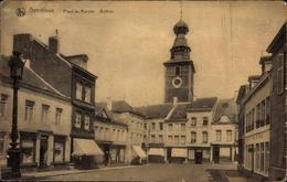 Cp Gembloux Wallonien Namur, Place Du Marché, Beffroi, Glockenturm - België