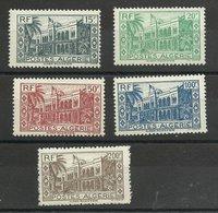 Algérie Série N° 200/ 204 Neufs ** MNH Cote YT 15€ 60 - Argelia (1924-1962)