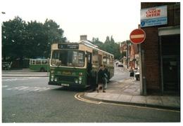 35mm ORIGINAL PHOTO BUS N°12 ROAD STATION CAMBRIDGE - F314 - Photographs