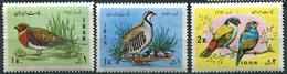 IRAN 1972 - Iranian New Year (Nowrooz). Birds. Full Set. MNH (**) - Iran