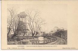 "ANTWERPEN-ANVERS""LES ENVIRONS DU BASSIN KATTENDYK EN 1855-MOLEN,MOULIN""EDIT.HERMANS N°84 - Antwerpen"