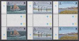 South Georgia 2000 Sir Ernest Shackleton 3v Gutter ** Mnh (44592A) - Zuid-Georgia