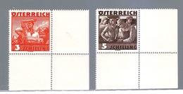 AUSTRIA AUTRICHE AUSTRIAN 1936  COSTUMI POPOLARI MNH**COMPLETA - 1918-1945 1a Repubblica