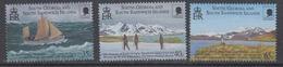 South Georgia 2000 Sir Ernest Shackleton 3v  ** Mnh (44592) - Südgeorgien