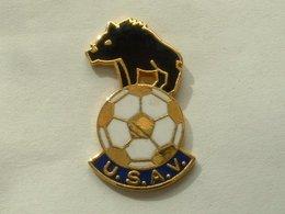 PIN'S SANGLIER -  - FOOTBALL U.S.A.V - Animaux