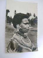 C.P.A.- Océanie - Mission Papouasie - Nouvelle Guinée - Jeune Femme Mékéo - Seins Nus - 1940 - SUP (CP 39 ) - Papouasie-Nouvelle-Guinée