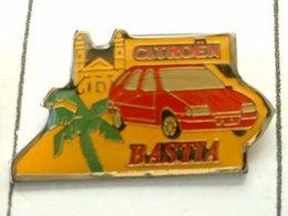 PIN'S CITROËN BASTIA - CORSE - Citroën