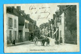 45 - Loiret - Chatillon Sur Loire - La Grand'Rue (0255) - Chatillon Sur Loire