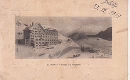 """St. Moritz - Hôtel """"La Magna"""" - GR Grisons"""
