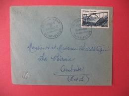 FDC France 1952 N° 928  - Viaduc De Garabit  Cachet St-Flour - FDC