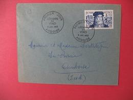 FDC France 1952 N° 929  - Léonard De Vinci Cachet  Ambroise - FDC