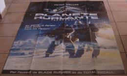AFFICHE CINEMA ORIGINALE FILM PLANETE HURLANTE DUGUAY Peter WELLER RUBIN 1995 TBE SCIENCE-FICTION - Manifesti & Poster