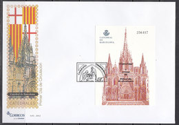 Espa�a Spain 4747 2012  HB Catedrales - Catedral De Barcelona SPD Sobre Primer D - Spanien