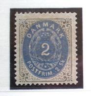 DINAMARCA - IVERT Nº 16 NUEVO * CON FIJA SELLO - 1864-04 (Christian IX)