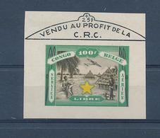 BELGIAN CONGO AIR LABEL CRC 100F MNH - Congo Belga