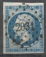 FRANCE - Oblitération Petits Chiffres LP 2031 MONDONVILLE ( Haute-Garonne) - 1849-1876: Période Classique