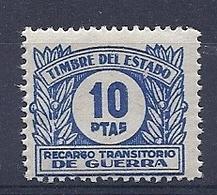 190031987  ESPAÑA  YVERT  T.I.G. Nº  33  **/MNH - Impuestos De Guerra