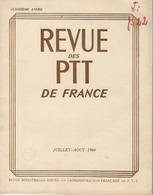 Bulletin - Revue Des PTT 1960 Mai/juin Et Juillet.août - Quinziéme Année N° 3 Et 4 - Manuali