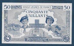 France - Billet Scout Uniface - 50 Vaillants - Andere
