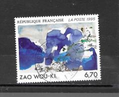 2928  OBL  Y & T   Œuvre Oeiginale De Zao Wou-Ki   «Série Artistique»  15A/27 - Used Stamps