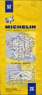 15 Cartes Routières Michelin N°52/53/56/60/64/65/67/68/69/72/73/78/82/84/85 - Cartes Routières
