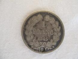 France 1 Franc 1845 - H. 1 Franco