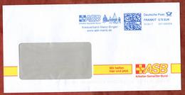 Brief, FRANKIT Frama 2D110.., ASB Kreisverband Mainz-Bingen, 70 C, 2017 (78757) - [7] République Fédérale
