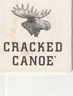 Beer Coasters  Cracked Canoe   Cracked Canoe Is Moosehead Breweries Premium Light Lager That Is Uniquely Brewed To Creat - Other Collections