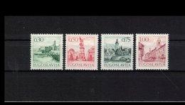 JUGOSLAWIEN , Yugoslavia , 1971 , ** , MNH , Postfrisch , Mi.Nr. 1427 X - 1430 X - 1945-1992 Sozialistische Föderative Republik Jugoslawien