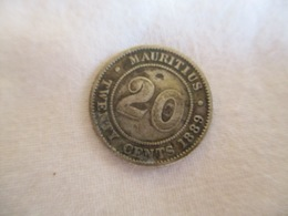 Mauritius: 20 Cents 1889 - Maurice