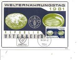 Contre La Faim ( CM D'Autriche De 1981 à Voir) - Tegen De Honger