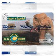 Spain - Telefónica - Razas Caninas Ibericas - Sabueso Español Dog - P-424 - 02.2000, 500PTA, 5.300ex, NSB - España