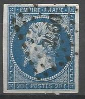 FRANCE - Oblitération Petits Chiffres LP 2060 Montargis (Loiret) - Marcofilie (losse Zegels)