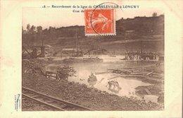 08 18 Raccordement De La Ligne De CHARLEVILLE à LONGWY Crue Du...... - Frankreich