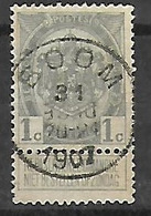 OCB Nr 81 Centrale Stempel Boom - 1893-1907 Coat Of Arms