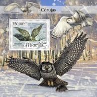 Mozambique, 2016. [moz16418] Owls (s\s+block) - Owls
