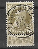 OCB Nr 75 Centrale Stempel Yves Gomezee - 1905 Grosse Barbe