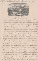 Petit Courrier 1899 / Petit Séminaire D' Ornans / 25 Doubs - France
